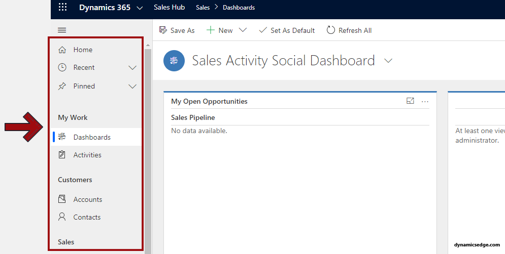 Dynamics 365 CRM Unified Interface View Training Consulting 2021 Dynamics Edge